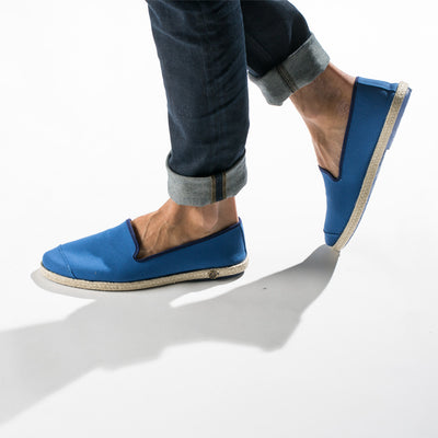 Espadrille Sneaker Homme Classic Azur coton casual chic