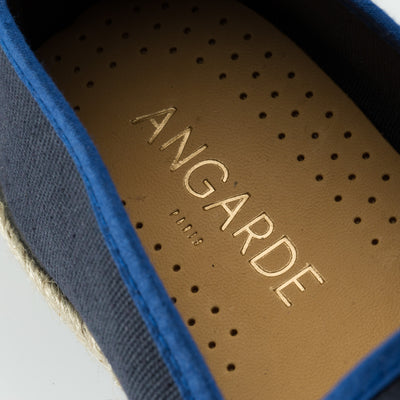 Espadrille Sneaker Homme marine Classic Navy coton confortable