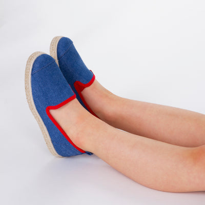 Espadrille Sneaker enfant Light Denim Hast collab confortable
