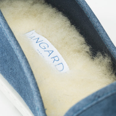 Slip-on sneaker bleu jeans demi-saison Sunburn Blue confortable