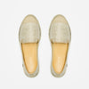 Exclusive Slip-On Surry Hills femme ANGARDE coton summer afterwork tissus touffu beige vue dessus