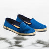 Classic Slip-On Azur Femme ANGARDE cotton summer sunrise bleu azur vue biais