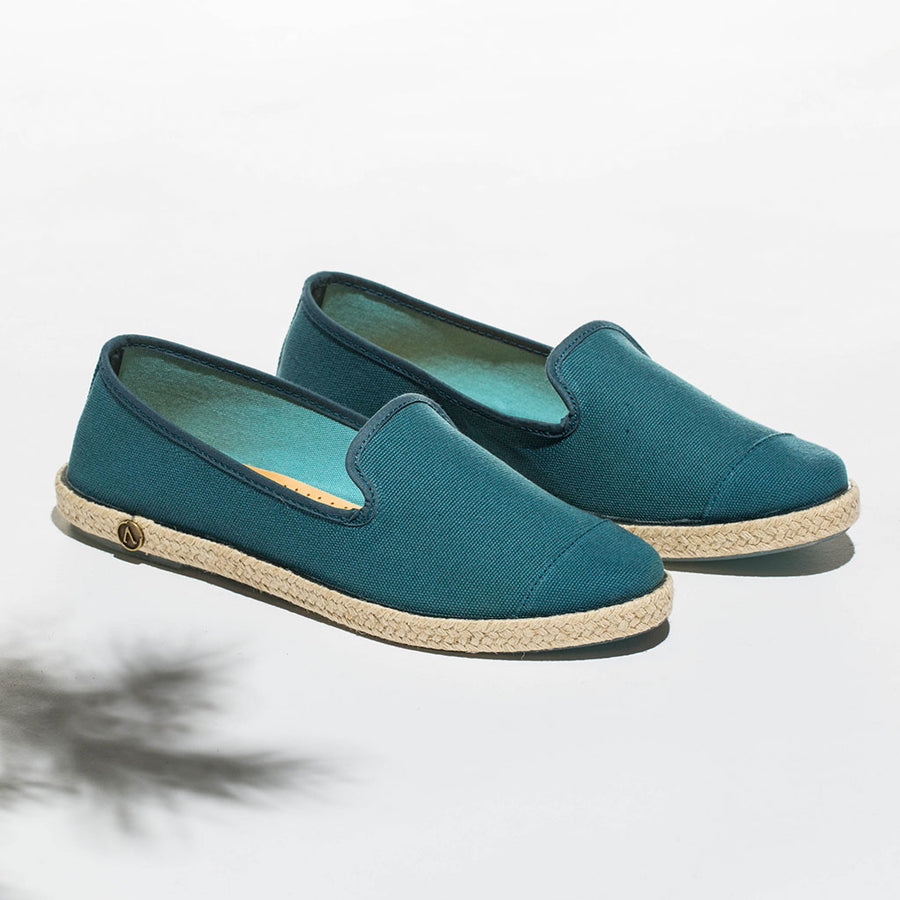 Classic Slip-On Bottle Femme ANGARDE coton summer sunrise vert bouteille casual chic