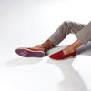 Classic Slip-On Carmine Homme ANGARDE coton summer sunrise bordeaux casual chic