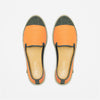 Classic Slip-On Orange Femme ANGARDE coton summer sunrise orange vue dessus
