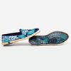 Collab Slip-On Feuille FORGET ME NOT femme ANGARDE coton summer sunrise imprimé feuille casual chic