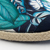 Collab Slip-On Feuille FORGET ME NOT femme ANGARDE cotton summer sunrise imprimé feuille résistante