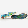 Collab Slip-On Perroquet FORGET ME NOT femme ANGARDE coton summer sunrise imprimé tropical confortable
