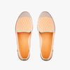 Exclusive Slip-On Darling's Fluo Orange femme ANGARDE coton summer afterwork fluo orange beige vue dessus