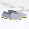 Street Slip-On Quartz Homme ANGARDE coton summer afterwork gris vue biais