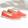 Street Slip-On Rose femme ANGARDE coton summer afterwork pink vue biais