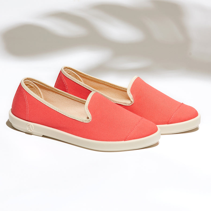 Street Slip-On Rose femme ANGARDE coton summer afterwork pink vue casual chic