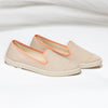 Street Slip-On Sable femme ANGARDE coton summer afterwork beige vue biais