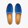 Street Slip-On Steel Blue Homme ANGARDE cotton summer afterwork bleu vue dessus