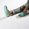 Sunny Slip-On Aqua Homme ANGARDE coton summer sunrise aqua casual chic
