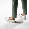 Sunny Slip-On Cream Homme ANGARDE coton summer sunrise blanc casual chic