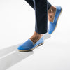 Sunny Slip-On Fluo Blue Homme ANGARDE coton summer sunrise fluo bleu casual chic