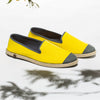 Sunny Slip-On Lemon Homme ANGARDE coton summer sunrise jaune vue de biais