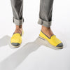 Sunny Slip-On Lemon Homme ANGARDE coton summer sunrise jaune casual chic