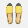 Sunny Slip-On Lemon Homme ANGARDE coton summer sunrise jaune vue de dessus