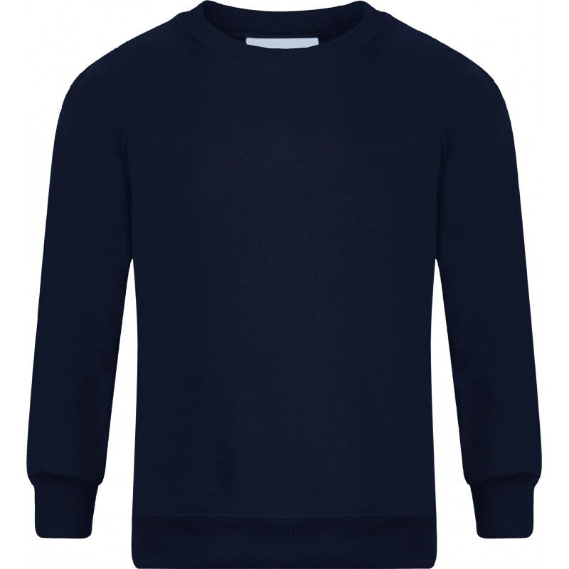 Round/Crew neck Sweatshirt - Higham St Johns - School Brands