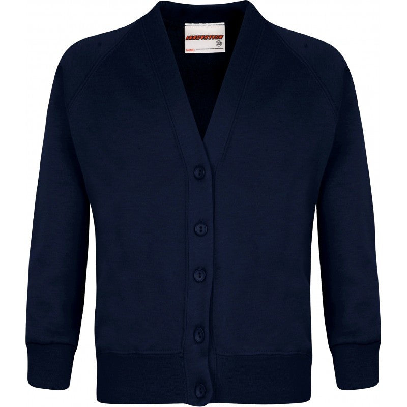 Sweatshirt Cardigan - Higham St Johns - School Brands