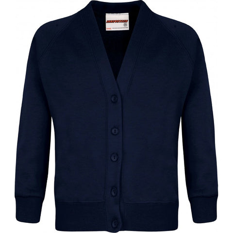 Sweatshirt Cardigan - School Brands