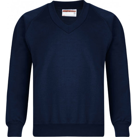 V-Neck Sweatshirt - School Brands