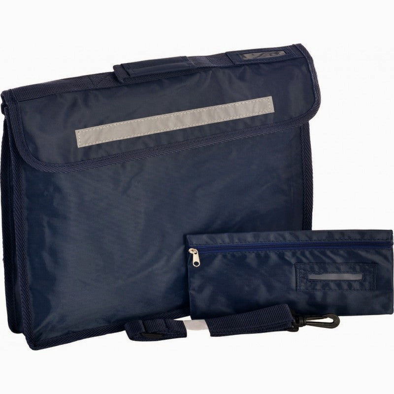 Premium Bookbag With Pencil Case - Higham St Johns - School Brands