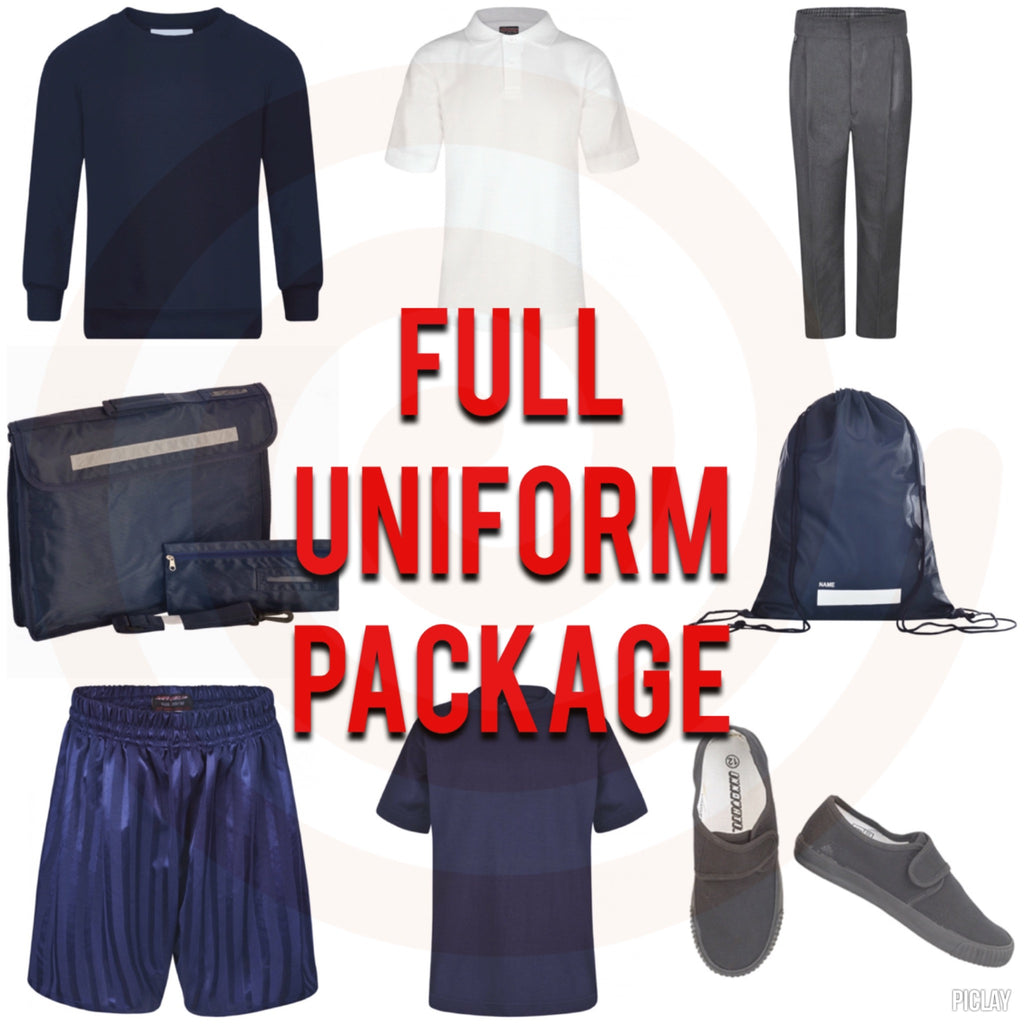 BOYS Higham St Johns Full Uniform Package Deal with full P.E. Kit (RRP £77) - School Brands
