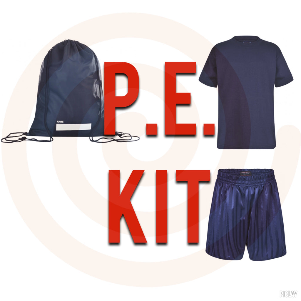Unisex Higham St Johns P.E. Kit (with/without Plimsolls) - School Brands