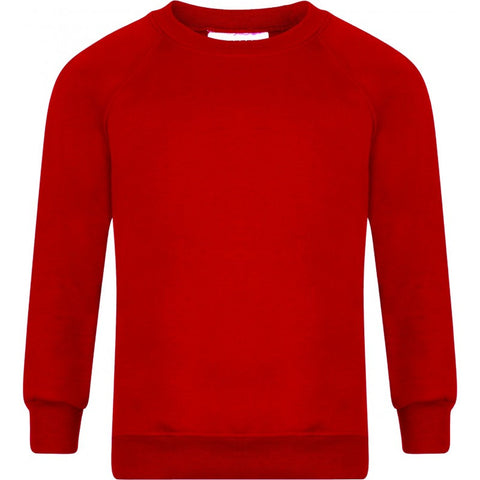 Round/Crew Neck Sweatshirt - Briercliffe Primary School - School Brands
