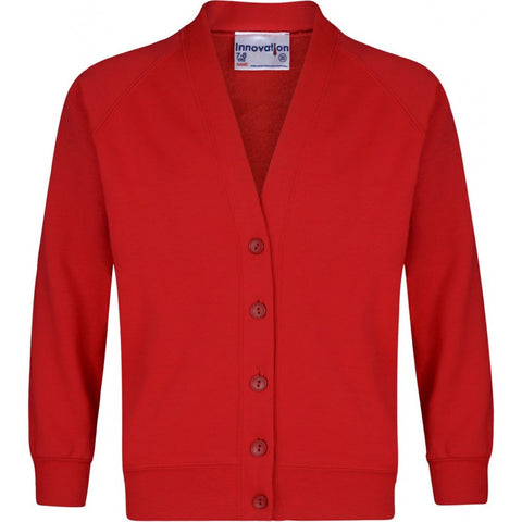 Sweatshirt Cardigan - Sacred Heart Primary School Colne - School Brands