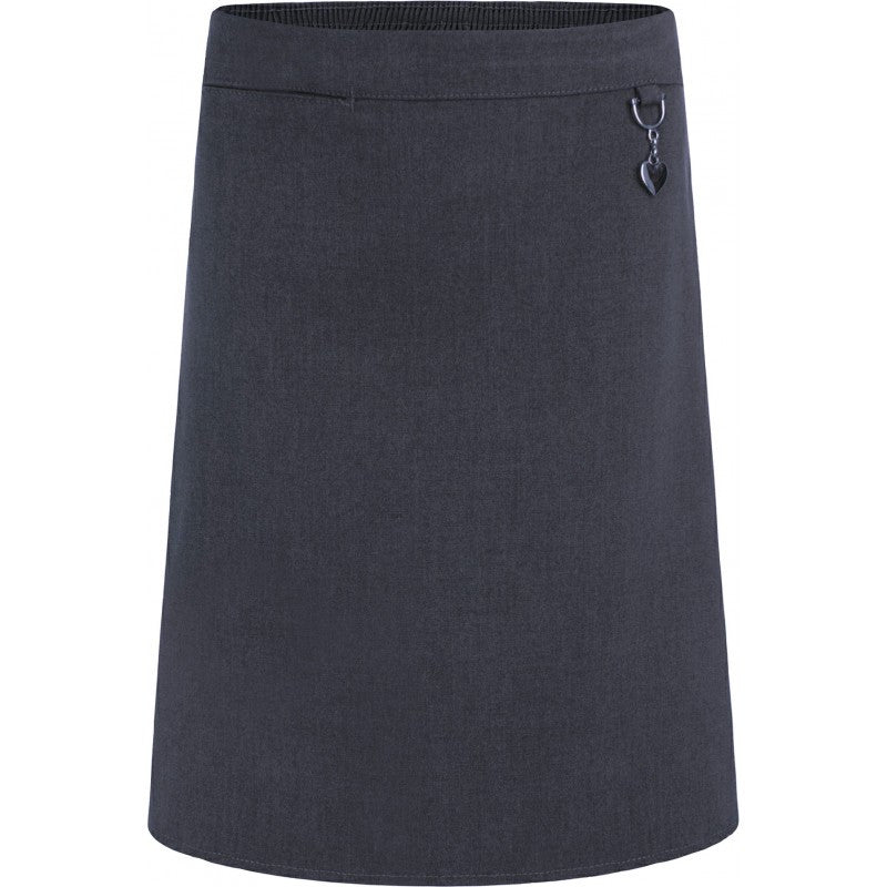 Girls Stretch Heart Skirt - St Thomas Barrowford - School Brands