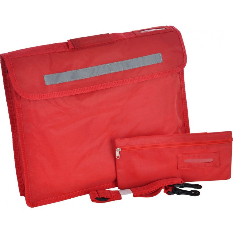 Premium Bookbag With Pencil Case - St Thomas Barrowford - School Brands