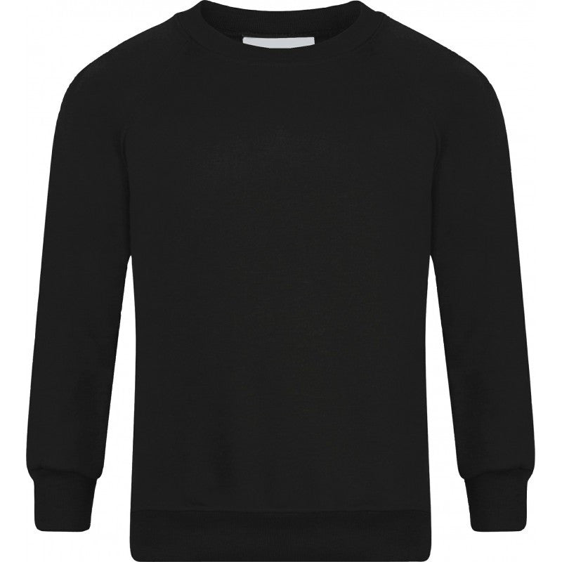 ... Plain Round Crew Neck Sweatshirt (various colours) - School Brands ... 4b5090d11131