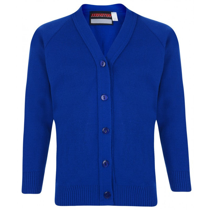 Plain Knitted Cardigan (Various Colours) - School Brands