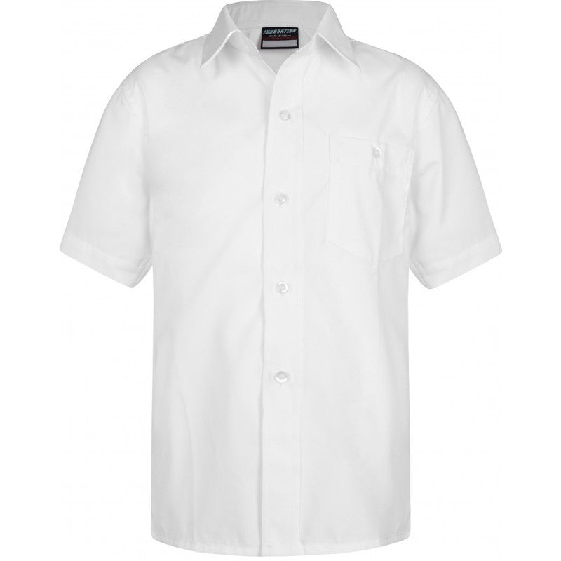 Twin Pack Short Sleeve Shirt - School Brands