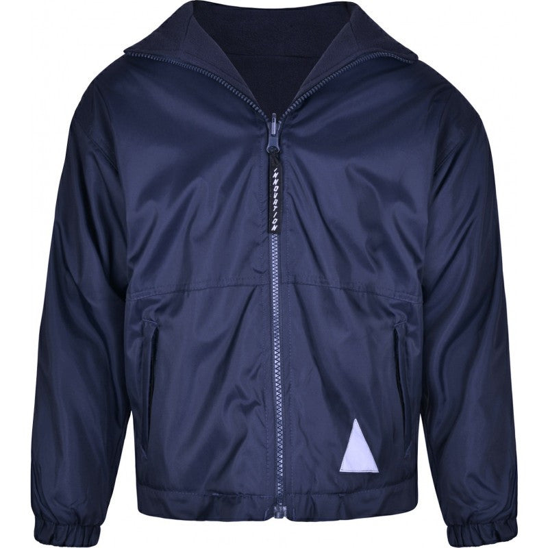 Reversible Fleece Jacket - Higham St Johns - School Brands