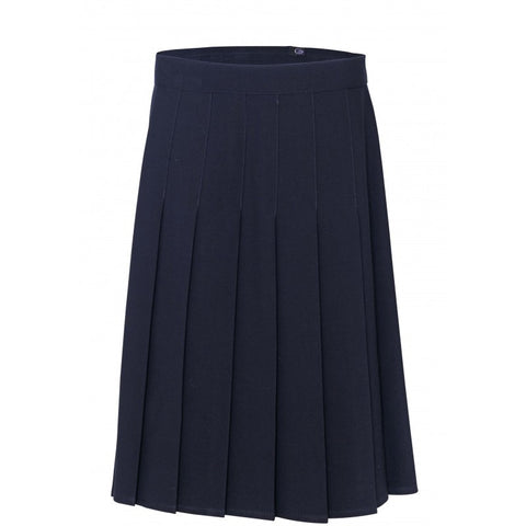 Girls Stitch Down Skirts (in Black, Grey and Navy) - School Brands