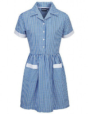 Gingham Dress - Higham St Johns - School Brands