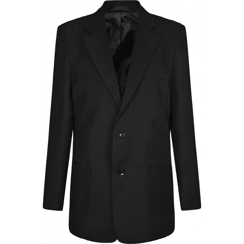 Boys Black Blazer (with logo) - St John Fisher and Thomas More - School Brands