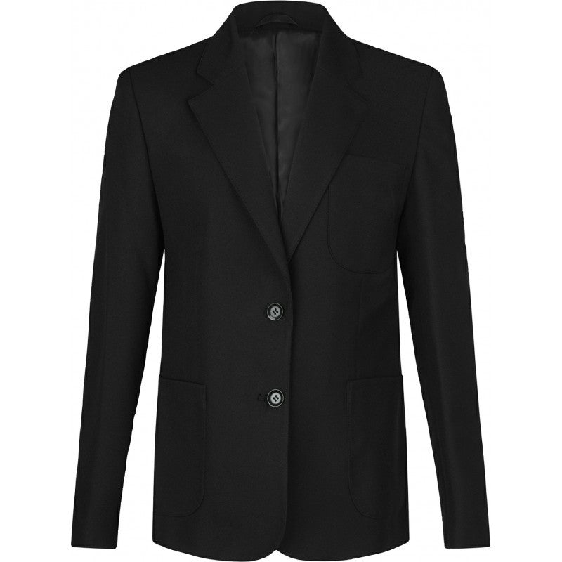 Girls Black Blazer (with logo) - St John Fisher and Thomas More - School Brands