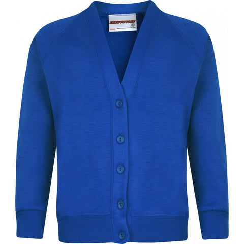 Sweatshirt Cardigan - Blacko Primary School - School Brands