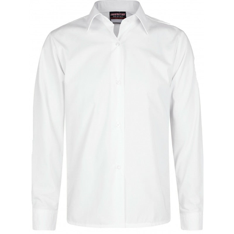 Long Sleeve Blouses (Twin Pack) - St. John Fisher and Thomas More - School Brands