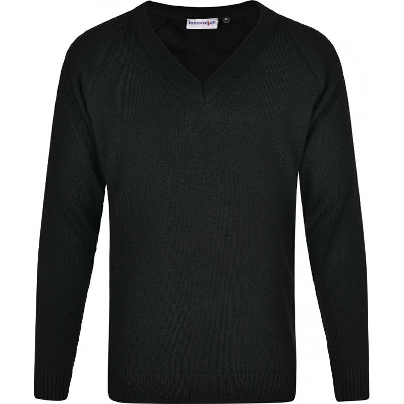 50/50 V-Neck Jumpers (with logo) - St John Fisher and Thomas More - School Brands