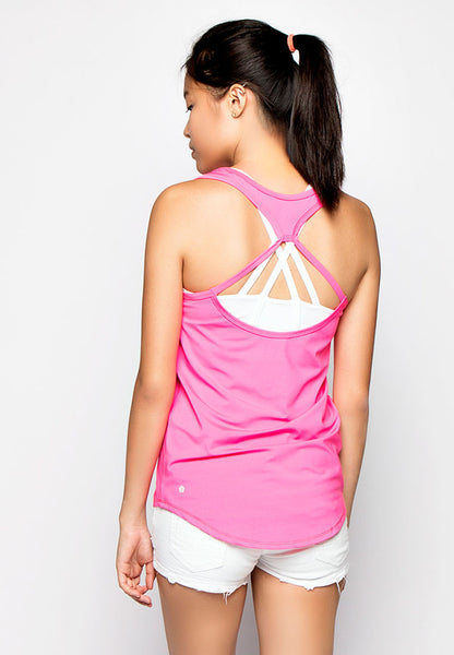 Revolve Active Tank Top - Pink