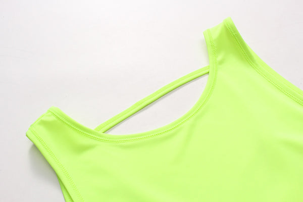 Joy-fit Athletic Tank Top - Yellow