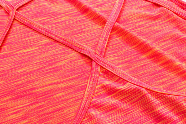 Criss-Cross Active Tank Top - Pink