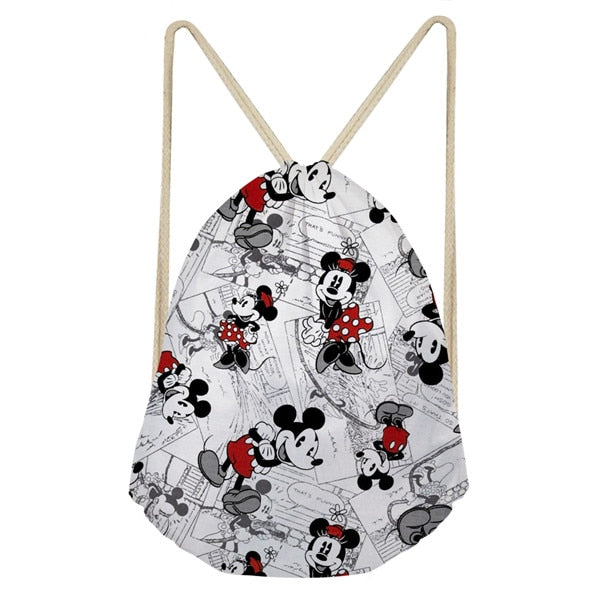 3aa1fd3bc8e Mickey Mouse Drawstring Backpack – One Click Shoppe
